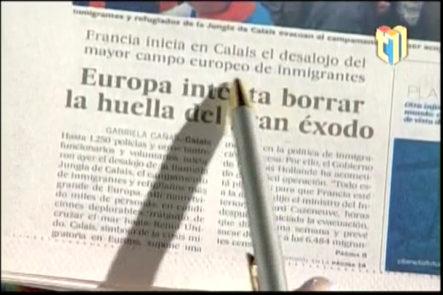 Consuelo dice:  ¨ Dondequiera se cuecen habas ¨  …¨ Europa intenta borrar las huellas del éxodo ¨