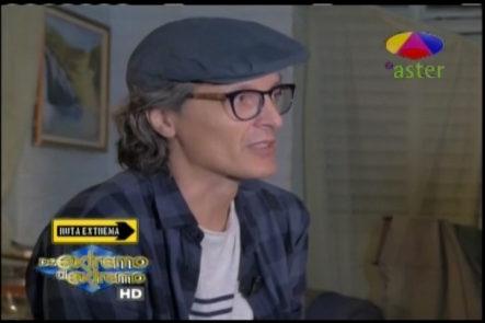 """Entrevista a José E. Pintor (Pinky) quien nos habla de su nuevo rodaje  """"Mañana no te olvides""""  en De Extremo a Extremo"""