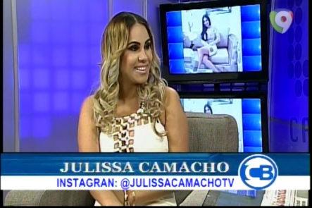 Entrevista a la Comunicadora Julissa Camacho que habla de sus nuevos retos dentro de los medios de comunicación