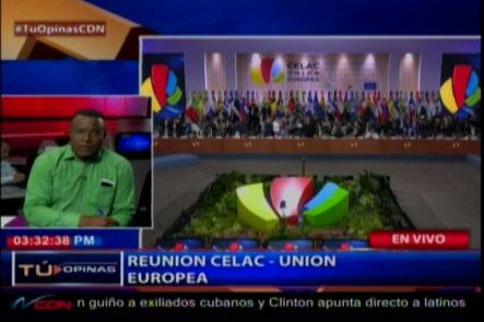 Félix Victorino ve muy beneficiosa e importante la reunión de la CELAC y la unión Europea
