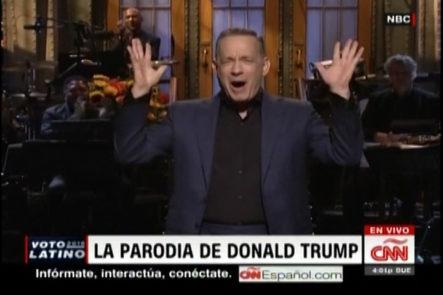 Tom Hanks Invitado Especial En Parodia Del Tercer Debate Presidencial  ¨ Saturday Night Live ¨