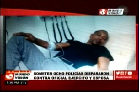Son 8 los sometidos a la acción de la Justicia por asesinar al Oficial del Ejército y su esposa en San Cristóbal