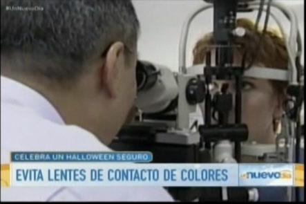 Importantes recomendaciones de las autoridades de salud para Halloween, piden avitar lentes de contacto de colores por posibles infecciones