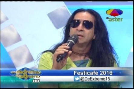 Micheal Miguel entrevista a José Roldán que nos habla del festival  ¨ Festicafé 2016 ¨