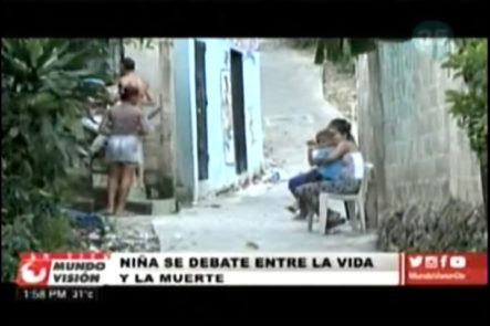 Delincuentes mantianen silencio y terror con los moradores Gualey donde fue baleada la niña