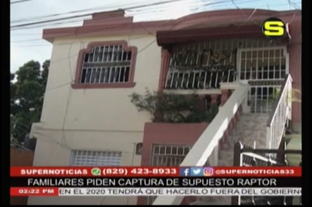 Tratan de raptar niña de brazos de su Madre, los familiares piden que se investigue y que sea capturado