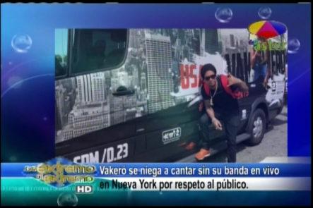Farándula Extrema Jary Ramírez comenta la situación de Vakeró que suspende concierto en NY por falta de sus músicos