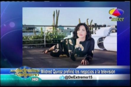 Farándula Extrema Alex y Jary comentan sobre Mildred Quiroz que se dedica de lleno a los negocios de la televisión