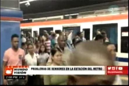 Caos en el Metro de Santo Domingo por fallas técnicas en sistema de censores
