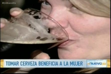 Las saludables virtudes de la cerveza para la mujer