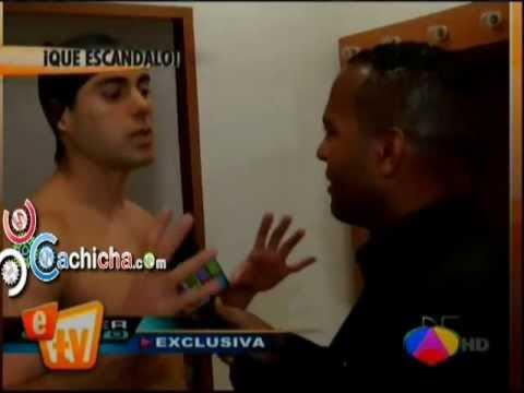 Ernesto D'Alessio Saca A Tony Dandrades Del Camerino#Video