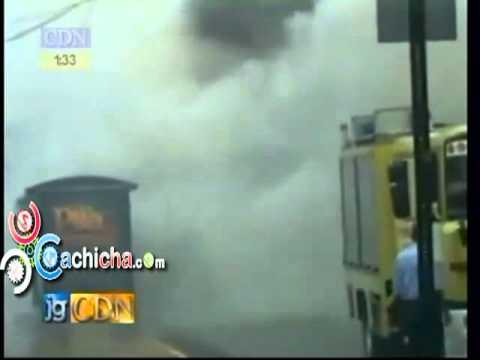 OMSA Prendia En Candela Ayer En Santo Domingo#Video