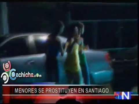 """Serie Completa: """"Niñas De La Noche"""" Prostitución De Menores En El Monumento De Santiago.#Video"""