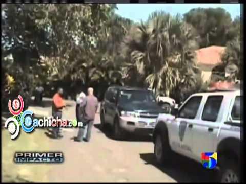 Extranjero Que Mató A Toda Su Familia En Sosua Sale En Primer Impacto.#Video