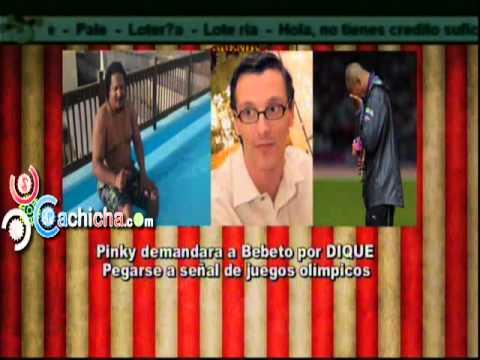 """Los Cirqueros dicen Pinky acusa a Bebeto de """"robarse"""" señal de Juegos Olímpicos.#Video"""