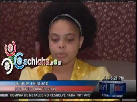 Leticia Trinidad, Joven De Dieciocho Años Víctima De Una Trombosis, Pide Ayuda Para Seguir Sus Estudios