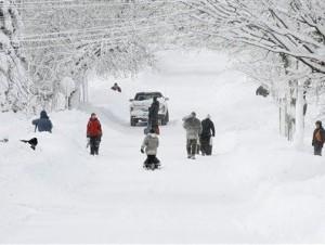 Tormenta Gigante Cubre De Nieve El Noreste De EE.UU.