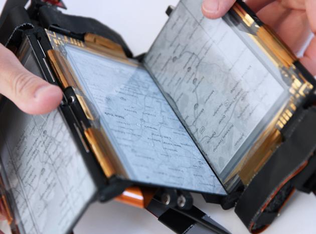 PaperFold, el nuevo smartphone con 3 pantallas desplegables