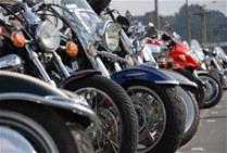 Muchas de las motocicletas vienen al país divididas en partes para evadir impuestos.