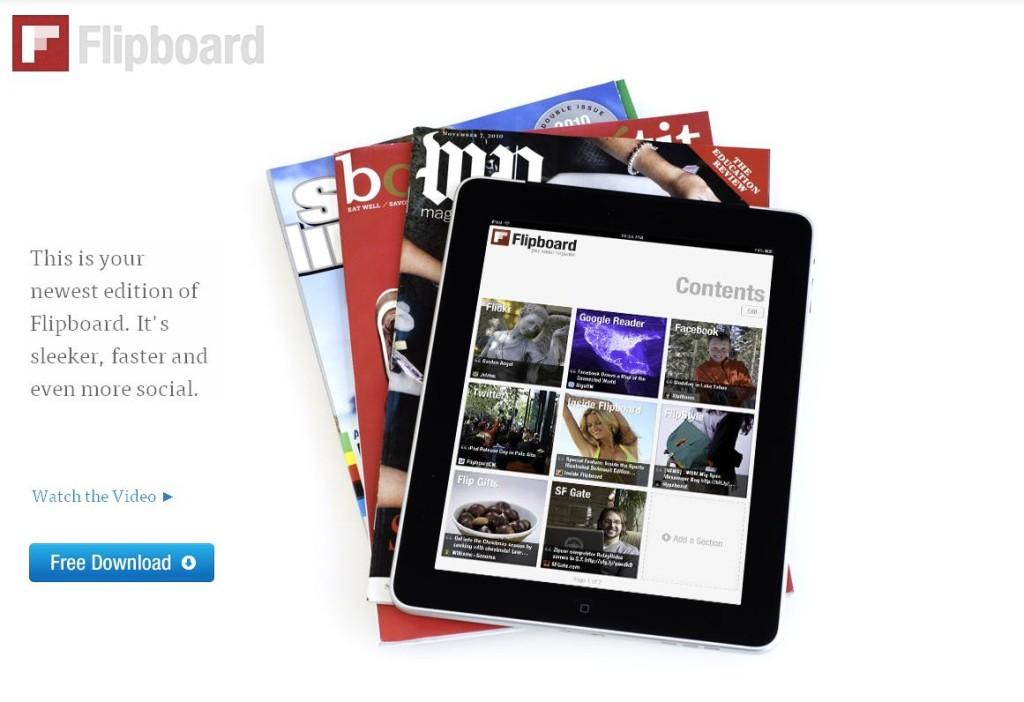 Facebook prevé lanzar agregador de noticias similar a Flipboard