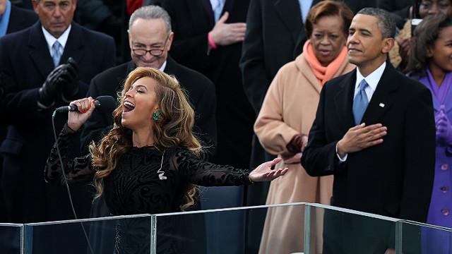 Beyoncé acepta que pregrabó el himno en la ceremonia de toma de posesión de Obama