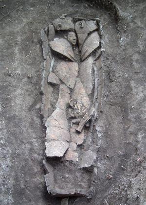 Sarcófago de 3.000 años encontrado cerca de Nazaret. / AUTORIDAD DE ANTIGÜEDADES DE ISRAEL