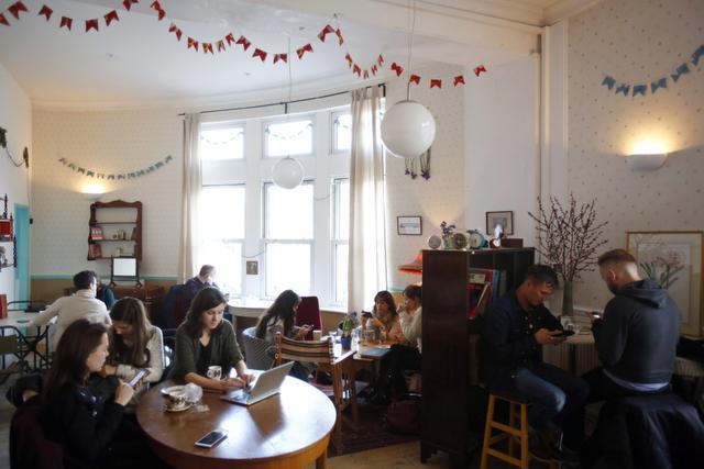 Café en Londres ofrece propuesta original