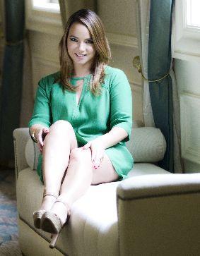 La actriz y animadora comenzó a promocionar su libro en persona en Miami.
