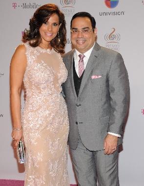 Gilberto Santa Rosa y Alexandra Malagón se casan el sábado