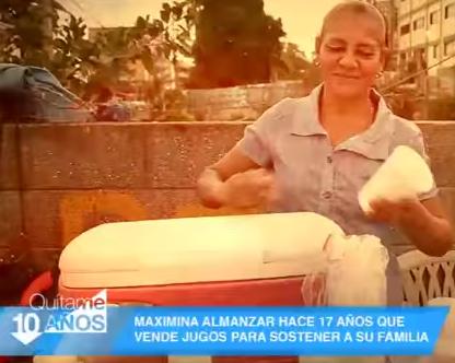 """La Inspiradora Historia De """"Maximina Almanzar"""" Una Trabajadora Incansable En """"Quítame 10 Años"""""""