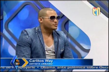 Entrevista a Carlitos Wey en Arte y Medio #Video
