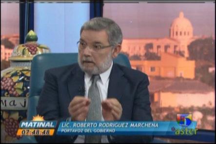 Entrevista Al Portavoz Del Gobierno Roberto Marchena En 'Matinal' #Video