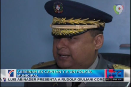 Asesinan Ex Capitan Y A Un Policía Municipal #Video