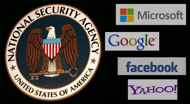 EEUU pagó a Yahoo, Google, Microsoft y Facebook por espiar, según prensa