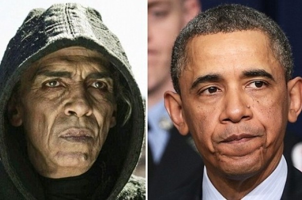 El mensaje fue reproducido por medios de comunicación y comparada la foto con imágenes del presidente de los Estados Unidos, para verificar su parecido.