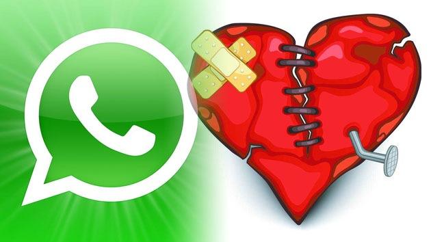 28 millones de rupturas por culpa del WhatsApp