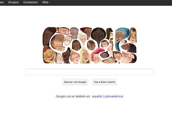 El Día Internacional de la Mujer según Google