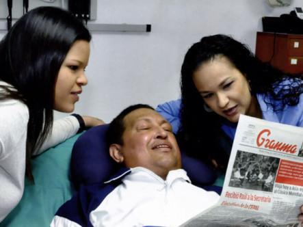 Venezuela difunde fotos de Chávez en Cuba