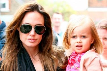 Hija menor de Angelina Jolie gana US$3.000 a la semana