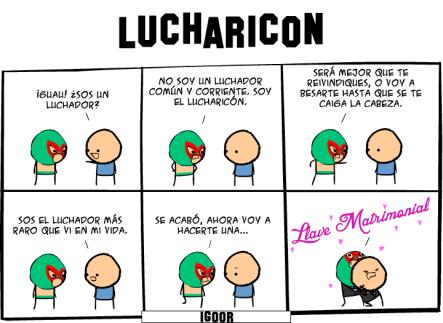 Lucharicon #Imagendeldía