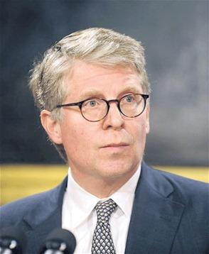 Fiscalía de NY. El fiscal Cyrus Vance.