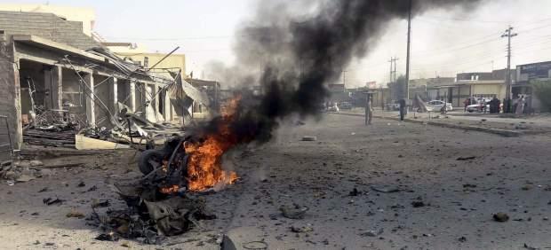 Al menos 38 muertos y 170 heridos tras una cadena de atentados en Bagdad
