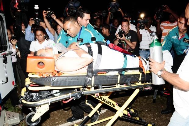 Periodista Juan Bolívar Díaz sufre accidente, trasladado en helicóptero