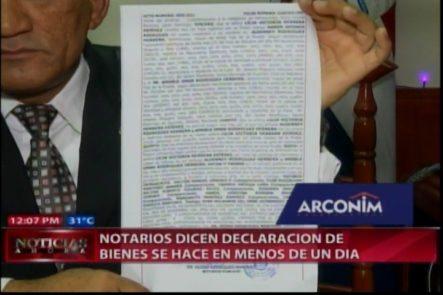 Declaración Jurada De Bienes Se Hace En Menos De Un Día Y Sólo Cuesta RD$ 2,000 Pesos