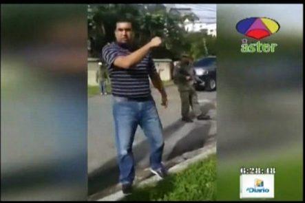 Geomar García: El Coronel Mandó A Explotarle La Goma A La Grúa AMET
