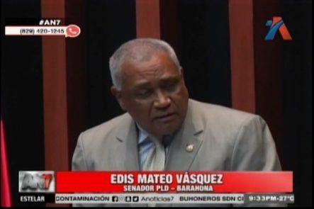 Senador De Barahona Renuncia A Sus Funciones