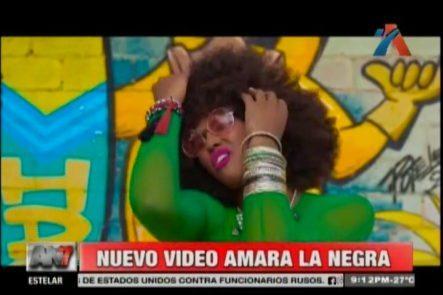 Amara Reaparece Y Causa Controversia. Nuevo Video Clip