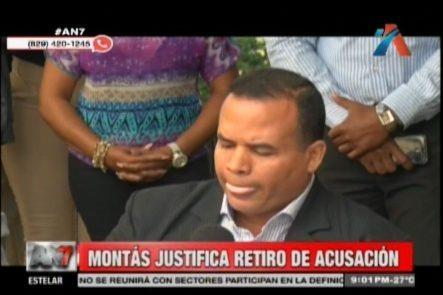 Edward Justifica Retiro De Acusación A Blas Peralta, Dice Que No Hubo 15 Millones