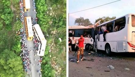 Aumenta A 12 Los Fallecidos En Accidente De Dos Autobuses En Higüey