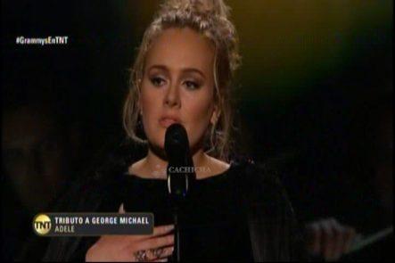 Adele Tributo A George Michael En Los Grammys